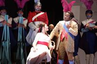 Ana Maria Martinez stars as Rosina and Lawrence Brownlee as Count Almaviva in 'Barber of Seville'