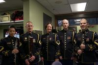 Woodwind Quintet from the United States Army Band 'Pershing's Own.'