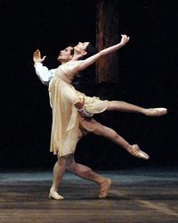 Alessandra Ferri and Jose Manuel Carreño in Sir Kenneth MacMillan's 'Romeo and Juliet' at The American Ballet Theatre