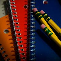 Notebook and pencils Educating for Tomorrow K-12 30 issues