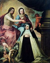 Vision of St Maria Magdalena di Pazzi