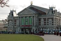 THe Concertgebouw in Amsterdam.