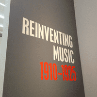 'Reinventing Music: 1910-1925' at The Museum of Modern Art
