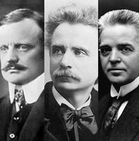 Jean Sibelius, Edvard Grieg, Carl Nielsen.