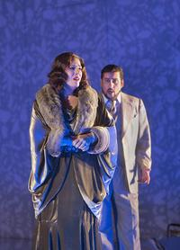 Sondra Radvanovsky as Amelia and Marcelo Álvarez as Gustavo III in Verdi's 'Un Ballo in Maschera'