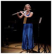 Flutist Karen Baumgartner.