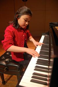 Pianist Avery Gagliano, age 10, from Washington, D.C.