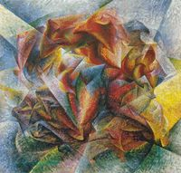 Umberto Boccioni's 'Dynamism of a Soccer Player'