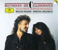 Mischa Maisky & Martha Argerich play Beethoven cello sonatas