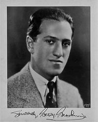 Publicity portrait of George Gershwin