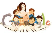 Clara Schumann is Honored with a Google Doodle