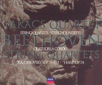 The Takács Quartet plays Beethoven's Middle-Period Quartets