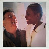 Philip Glass and Helga Davis
