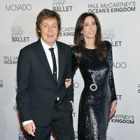 Sir Paul McCartney and Nancy Shevell attend the 2011 New York City Ballet Fall Gala