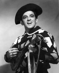 Charles Anthony, in a 1957 promotional photo for Leoncavallo's 'Pagliacci'