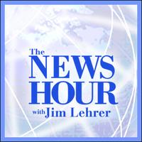 The News Hour with Jim Lehrer PBS logo