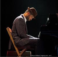 James Moran at the piano