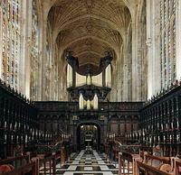 1968 Harrison organ at King's College Chapel, Cambridge, England, UK