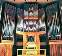 1975 Kuhn organ at Alice Tully Hall, Lincoln Center, New York, NY