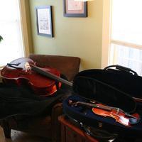 Cello and violin