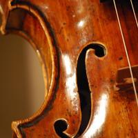A Guarneri violin