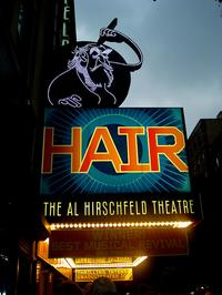 Hair on Broadway in 2010