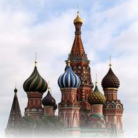 Saint Basil's Cathedral. Russia, Moscow.