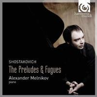 Shostakovich: The Preludes & Fugues / Alexander Melnikov