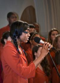 Gwendolyn Baptiste and Boston Children's Chorus