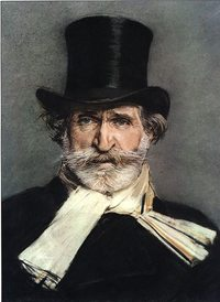 Portrait of Giuseppe Verdi by Giovanni Boldini, 1886