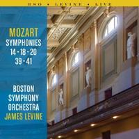 Boston Symphony Orchestra: Mozart Symphonies Nos. 14, 18, 20, 39, and 41