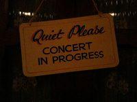 Quiet, please.