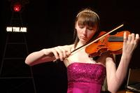 Violinist Annika Jenkins