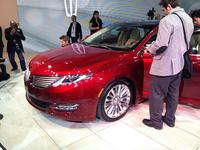 2013 Lincoln MKZ at the 2012 New York International Auto Show