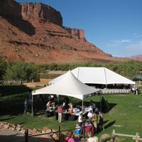 Concert Tent at Moab Music Festival
