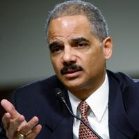 U.S. Attorney General Eric Holder testifies during a hearing before the Senate Judiciary Committee on November 18, 2009.