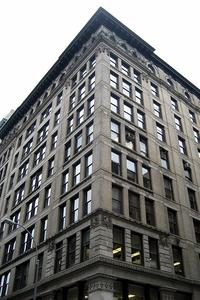 The Brown Building, site of the Triangle Shirtwaist Factory Fire in 1911.