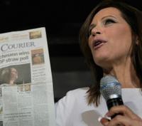 Michele Bachmann wins straw poll