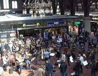 Copenhagen Philharmonic stages 'Bolero' Flash Mob
