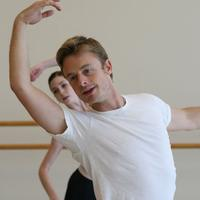 Christopher Wheeldon rehearsing Prokofiev Pas de Deux with Bridgett Zehr