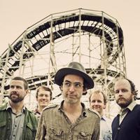 Clap Your Hands Say Yeah members Sean Greenhalgh, Robbie Guertin, Alec Ounsworth,  Lee and Tyler Sargent.
