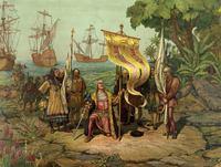 L. Prang & Co., Boston: 'Christoper Columbus arri