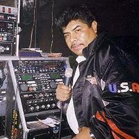Fausto Salazar, aka Potencia Latina, a veteran of New York's 'cumbia sonidera' scene.