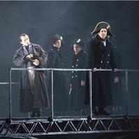 Claggart (Phillip Ens), Captain Vere (Andrew Kennedy) in Bily Budd