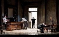 Eugene O'Neill's 'The Iceman Cometh' featuring Nathan Lane and Brian Dennehy at Chicago's Goodman Theatre.