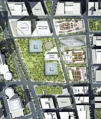 World Trade Center development site plan