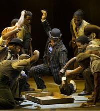 David Alan Grier (center) and the cast of 'The Gershwins' Porgy and Bess'
