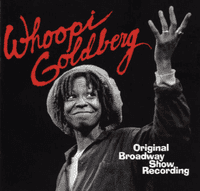 Album cover for the recording of Whoopi Goldberg's self-titled Broadway show