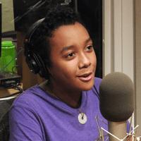 Alex Casimir, 13, of the blog Fish Slaps a Baby