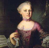 Portrait of Maria Anna Mozart